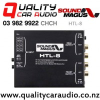 SoundMagus HTL-8 4 Channel Speaker Level Input to RCA Level Input Converter with Easy Payments