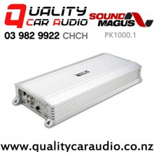 SoundMagus PK1000.1 1000W RMS Mono Channel Class D Car Amplifier with Easy Finance