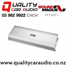 SoundMagus PK1500.1 1500W RMS Mono Channel Class D Car Amplifier with Easy Finance