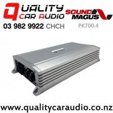 SoundMagus PK700.4 360W 4/3/2 Channel Class D Car Amplifer with Easy Finance