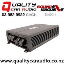 SoundMagus SK600.1 600W RMS Mono Channel Car Amplifier with Easy Finance