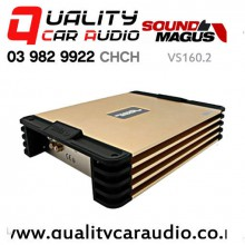 SoundMagus VS160.2 380W Full Range 2 Channel Class AB Car Amplifier with Easy Finance