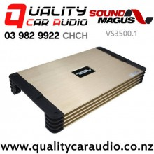 SoundMagus VS3500 3500W RMS Mono Channel Class D Car Amplifier with Easy Layby
