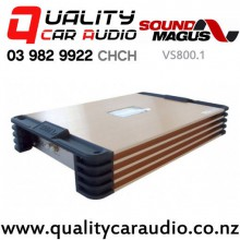 SoundMagus VS800.1 800W RMS Class D Mono Channel Car Amplifier with Easy Finance