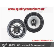 "SOUNDSTREAM SPC-62 6.5"" 60W RMS 2-Way Coaxial Speakers"