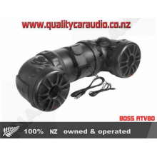 "BOSS ATV80 8"" Marine Speakers 1.5"" Tweeters - Easy LayBy"
