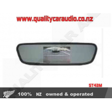 "ST43M 4.3"" Clip Rear View Screen - Easy LayBy"