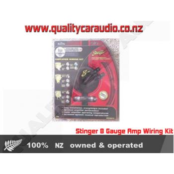 Stinger 8 Gauge Amp Wiring Kit