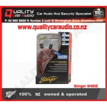 Stinger SI4212 12 FOOT 2CH RCA CABLES - Easy LayBy