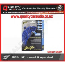 Stinger SI6217 17 FOOT RCA CABLES - Easy LayBy