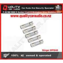Stinger SPF5140 CHROME 40A AGU FUSES (5PK) - Easy LayBy
