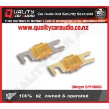 Stinger SPF58100 CHROME 100A MIDI FUSES 3PK - Easy LayBy