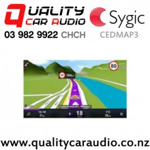 Sygic CEDMAP3 Sygic Map for Nakamichi and Philips Only with Easy Payments