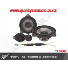 "T3-BMW3 4"" 2 way component speakers for BMW models - Easy LayBy"