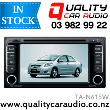 "NAVPRO TA-N615W (Toyota 200mm Facial) 7"" Navigation Bluetooth DVD CD USB AUX NZ Tuners (Map not include) with Easy LayBy"