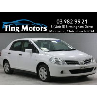 2012 Nissan Tiida Latio with NZ Navigation (ORC not incl)