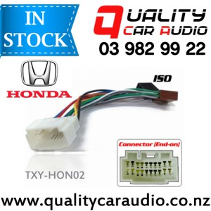 TXY-HON02 to iso Car Stereo Wiring connector year 1998 - 2009 with Easy Layby