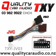 TXY-JV03 JVC (2011 On) to ISO Radio Wiring Adapter