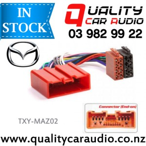 TXY-MAZ02 Mazda to iso Car Stereo Wiring connector year 2001 onward with Easy Layby