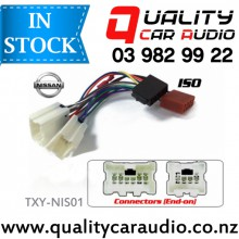 TXY-NIS02 Nissan to iso Car Stereo Wiring connector year 1995 - 2001 with Easy Layby