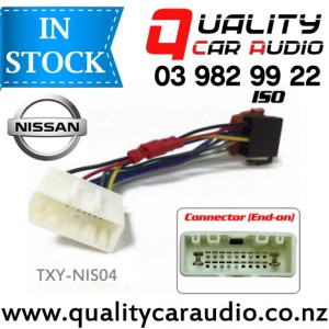 TXY-NIS04 Nissan to iso Car Stereo Wiring Connector year 2007 onward with Easy Layby