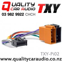 TXY-Pi02 Pioneer (2010 On) to ISO Radio Wiring Adapter