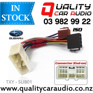 TXY-SUB01 Subaru to iso Car Stereo Wiring connector year 1995 onward with Easy Layby with Easy Layby