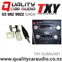 TXY-SUBAUX01 Subaru Aux Input Cable 1.3m (8 pin)