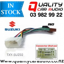 TXY-SUZ02 Suzuki to iso Car Stereo Wiring connector year 2001 onward with Easy Layby