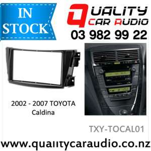 TXY-TOCO02 Toyota Corolla 2007 - 2013 (Grey & Black) for Double Din Stereo with Easy Layby