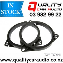 TXY-TOYNI Toyota & Nissan Speaker Adapters suit 165mm after market Speakers (Pair) with Easy Layby
