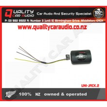 UNI-JACK.2 Universal Analogue to Aftermarket S/W Adapter - Easy LayBy