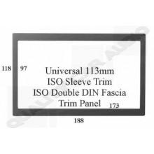 Universal 113mm ISO Sleeve Trim Panel