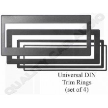 Universal DIN Trim Rings