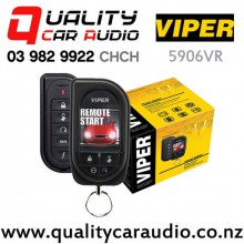 Viper 5906VR Remote Start Alarm with OLED Screen with Easy Finance