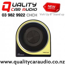 "Volt Up SP-204 8"" 380W Stand-Up Type Car Active Subwoofer (Amp Kits Incl) with Easy Finance"