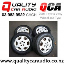 2005 Toyota Voxy Wheel x4 Original wheel with 4mm Bridgestone and Toyo tyre 215/65/R15 with Easy Finance
