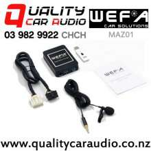 WEFA-MAZ01 Digital Music Changer USB/ AUX/ Bluetooth Input for Mazda with Easy Finance