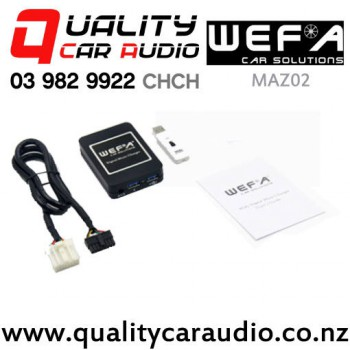 WEFA-MAZ02 Digital Music Changer USB/ AUX Input for Mazda with Easy Payments