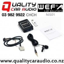 WEFA-NIS01 Digital Music Changer USB/ AUX/ Bluetooth Input for Nissan with Easy Finance
