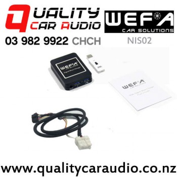WEFA-NIS02 Digital Music Changer USB/ AUX Input for Nissan with Easy Payments