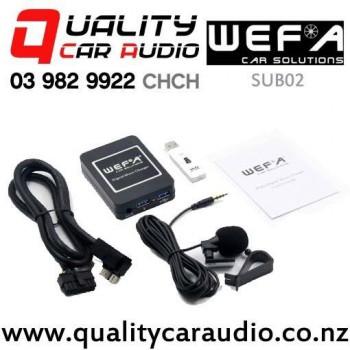 WEFA-SUB02 Digital Music Changer USB/ AUX Bluetooth Input for Subaru (Mcintosh & Suzuki) with Easy Payments