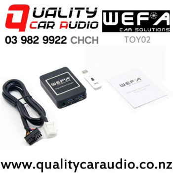 WEFA-TOY02 Digital Music Changer USB/ AUX Input for Toyota (6+6 pins) with Easy Payments
