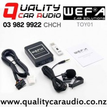 WEFA-TOY01 Digital Music Changer USB/ AUX/ Bluetooth Input for Toyota (6+6 pins) with Easy Finance