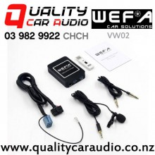 WEFA-VW02 Digital Music Changer USB/ AUX/ Bluetooth Input for Volkswagen (8 pin) with Easy Payments