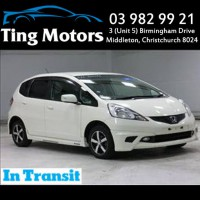 2010 Honda Fit Smart Selection New Shape Smart Key Pearl White iVtec Aero Body Kit with 12 Months WOF $8499 +ORC
