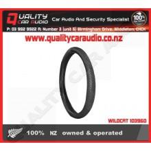 WILDCAT 103960 STEERING WHEEL COVER MASSAGE BLACK - Easy LayBy