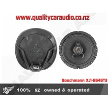 "Boschmann XJ1-G646T3 6"" (16cm) 260W 3 Ways Car Speakers (Pair) with Easy Layby"