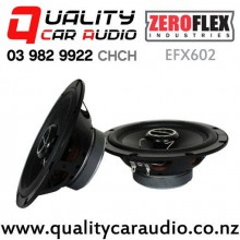 """ZeroFlex EFX602 6.5"""" 80W RMS 2 Way Coaxial Car Speakers (pair) with Easy Finance"""