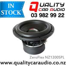 ZeroFlex NZ1200SPL 12'' 3000W (1200W RMS) NZ Series DVC 2 Ohm Car Subwoofer with Easy LayBy
